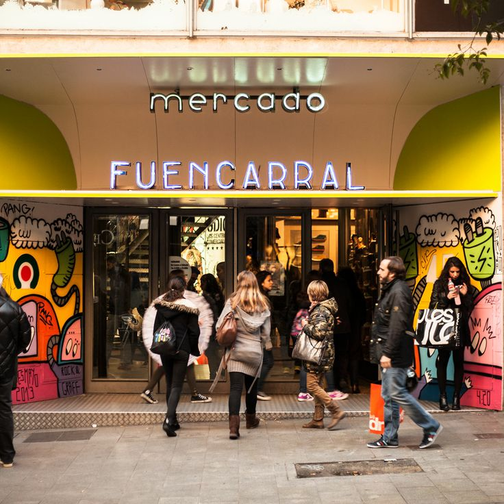 Mercado Fuencarral in Madrid.