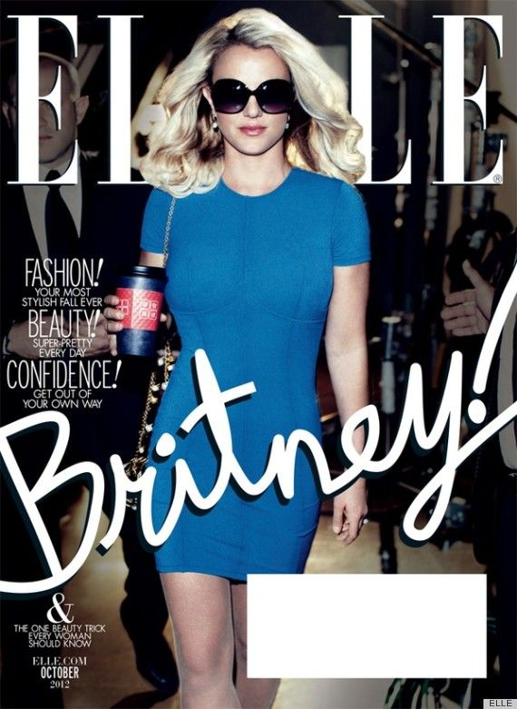 Britney!: Magazine Covers, October 2012, Britney Bitch, Elle Magazine, Magazines, Britneyspears, She October, Britney Spears