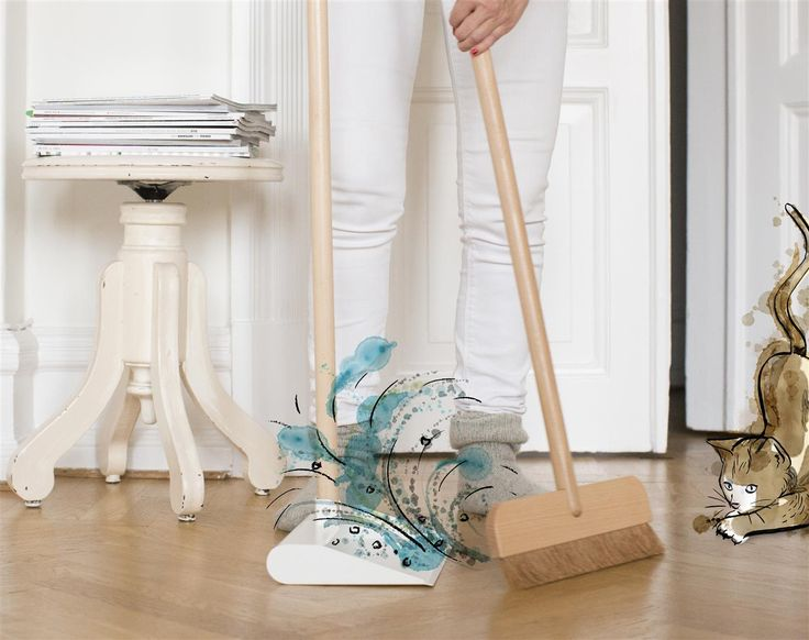 Give your vacuum cleaner the day off. Quick and easy when that's what's needed. ANVÄNDBAR dustpan and broom. Get reacquainted with the original cleaning solution. And start to live a little kinder. #Livealittlekinder #IKEAcollections #ANVÄNDBAR #IKEA #greenhomes #broom