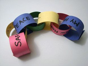 Prayer Chain for your students. A great way to encourage participation   and pray for each others needs.