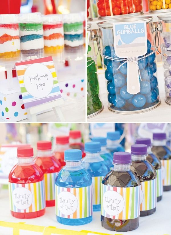 29 best images about mister maker party on pinterest art for Kids paint party