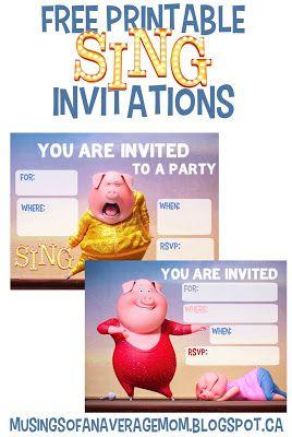 movie party invitations free