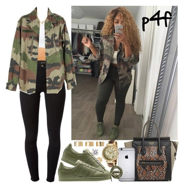 Passion 4Fashion:  Fashion Goals by shygurl1 on Polyvore featuring polyvore, мода, style, J Brand, Michael Kors, ASOS and adidas Originals