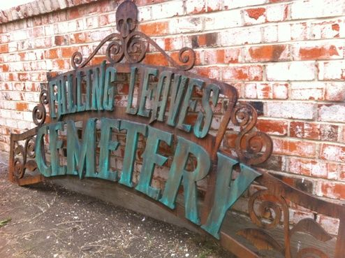 Cemetery Arch Tutorial - for above the garage (with columns on the side of the house?). This'll have to be BIG.