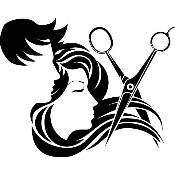 Hair Salon Accessories Barber Scissors Stylish Barbershop Fashion Hair Salon Clipart Png Unisex Hair Salon Hair Salon Logos Hair Salon Art
