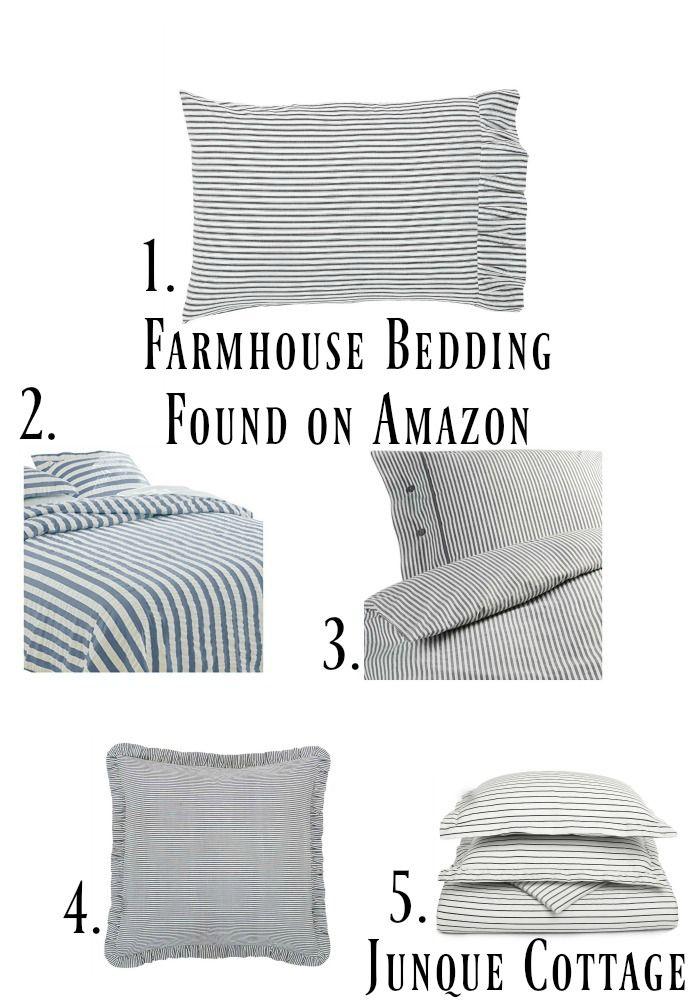 farmhouse bedding collage