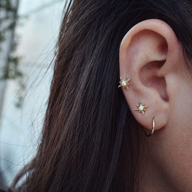 17 best ideas about lobe piercing on