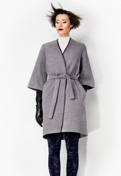 Wool coat from Kasia Miciak design by DaWanda.com