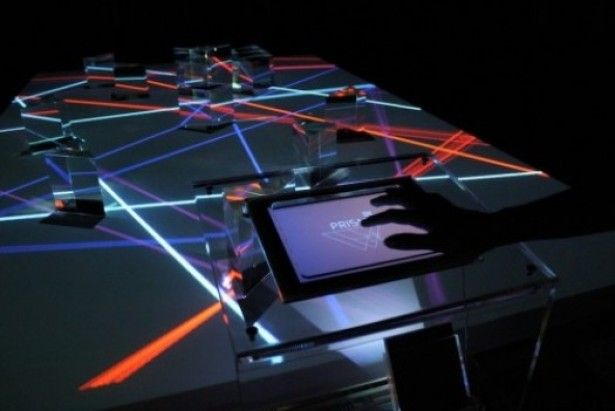 interactie licht installatie Interactieve kunst met licht