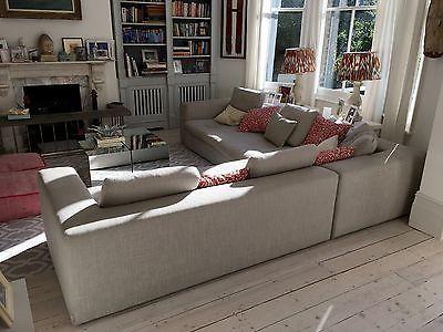 Habitat Sidney Grey Corner Sofa