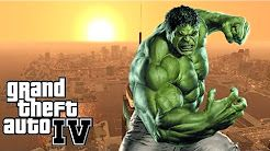 Gta 4 - Mods - O Incrível HULK! INSANO! - YouTube