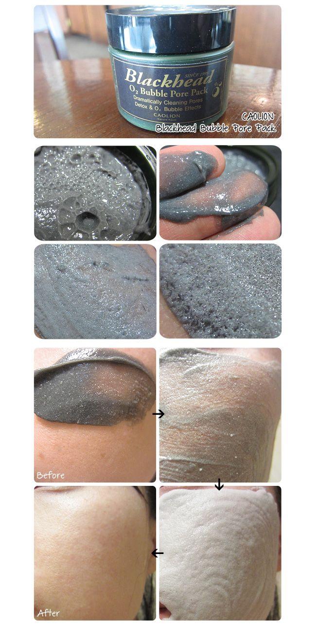 [CAOLION] Blackhead O2 Bubble Pore Pack - wishtrend