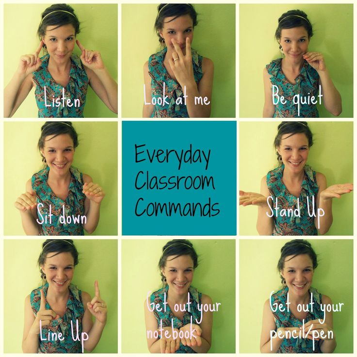 Teaching everyday classroom language in English to all level learners {sticky…