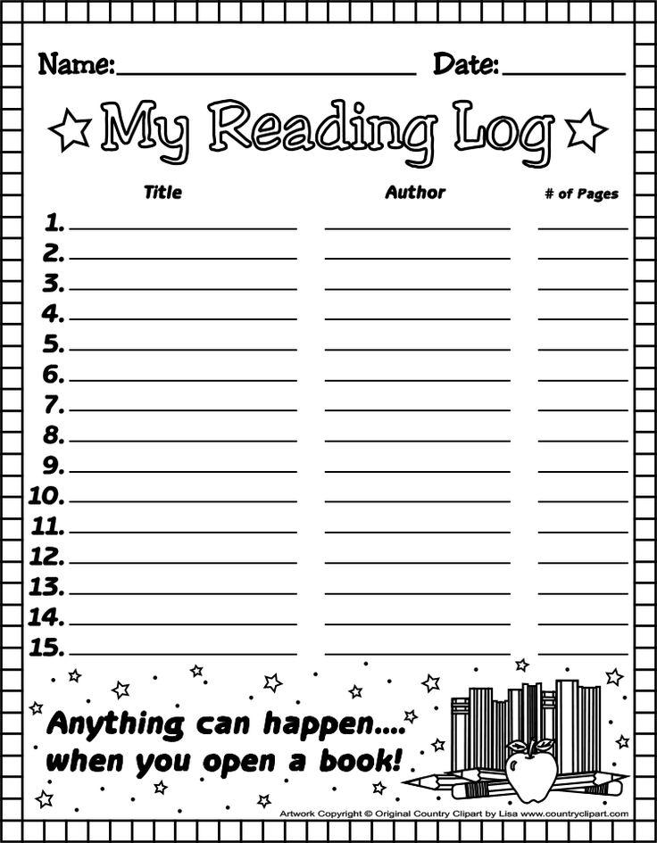 Best 25+ Reading logs ideas on Pinterest | Log reader, Ar test ...