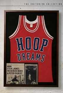 Hoop Dreams Poster  A film following the lives of two African American boys who struggle to become college basketball players on the road to going professional.    Director: Steve James  Writers: Steve James, Frederick Marx  Stars: William Gates, Arthur Agee and Emma Gates | See full cast and crew