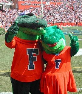Albert and Alberta UF Gators!!