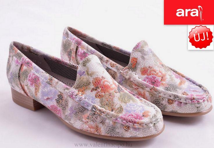Jenny Ara női virágos cipő a napsütéses vidám napokhoz :)  http://valentinacipo.hu/ara/noi/feher/zart-felcipo/142447240  #Valentina_cipőbolt #női_cipő #ara_cipő