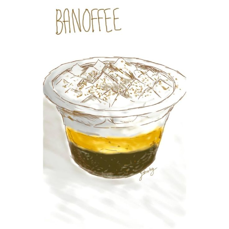Banoffee in a cup