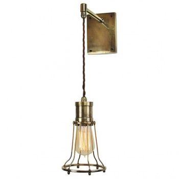 Marconi Adjustable Drop Wall Light