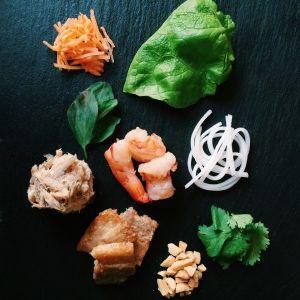 Goi cuon filling - Vietnamse spring rolls  #recipes #vietfood #vietnamese #springrolls #freshrolls