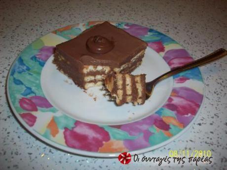 Εύκολο, φίνο και νόστιμο γλυκό γι'αυτούς που αγαπούν τη σοκολάτα!