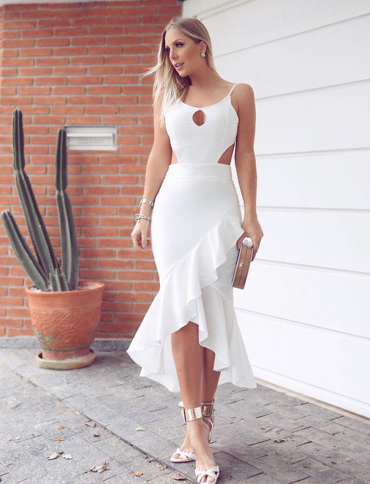 Sexy lindo en blanco