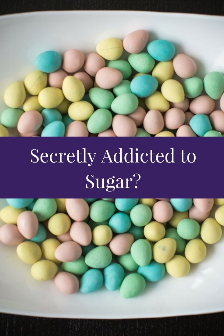 7 Signs You're Secretly Addicted to Sugar. What are the signs? I'll share with you my personal thoughts on this, with the benefit of hindsight. I believe my addiction started at a young age, I remember enjoying toast with peanut butter and brown sugar as a snack! Crazy! You may recognize some or most of these signs in your life when they are pointed out, but even if you only relate to one; it's time to take a closer look at the issue.
