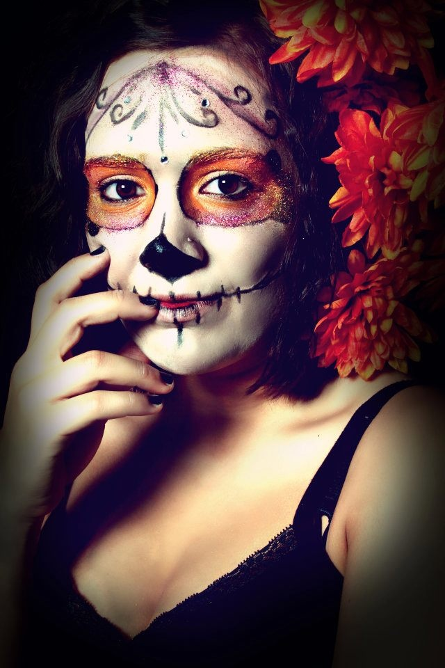 92 best Day of the Dead Makeup images on Pinterest | Sugar skull ...