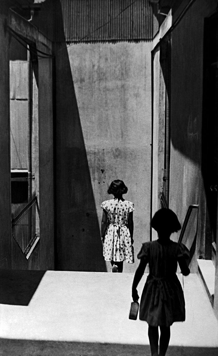 Sergio Larrain: Passage Bevestrello, Valparaiso. Chile, 1952.