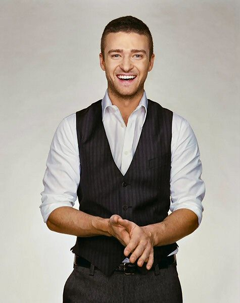 Justin Timberlake..first celebrity crush back in his blonde haired (NSYNC) days..haha