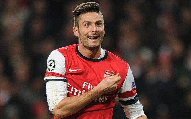 Olivier Giroud capped his early return to the pitch with a thumping goal against Manchester United at the Emirates on Saturday. Though the goal was a...