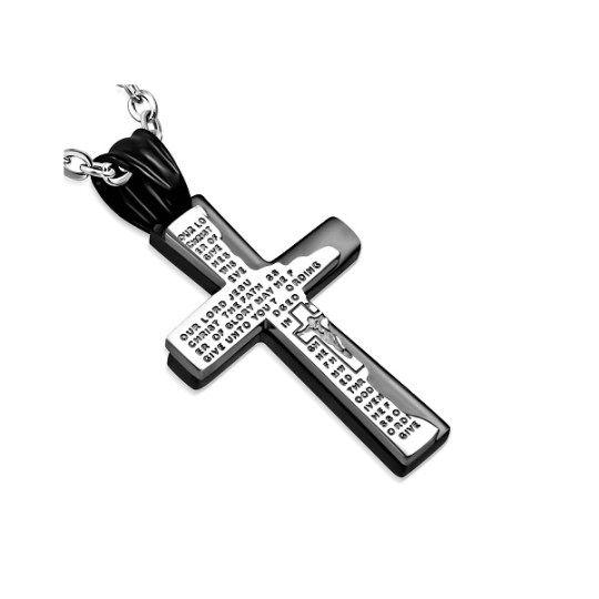 Rippiristi LordsPrayer Musta on tämän mallin juur saapunut uutuusväri. Julian Korulipas #rippiristit #RippiristiPojalle #RippiristitNetistä
