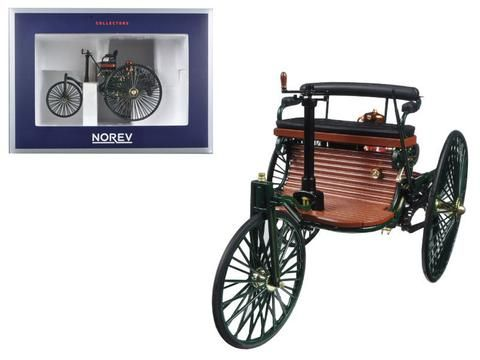 1886 Benz Patent Motorwagen 1:18 Diecast Model Car by Norev