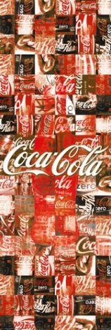 Coca-Cola - Patchwork - plakat - 53x158 cm  Gdzie kupić? www.eplakaty.pl