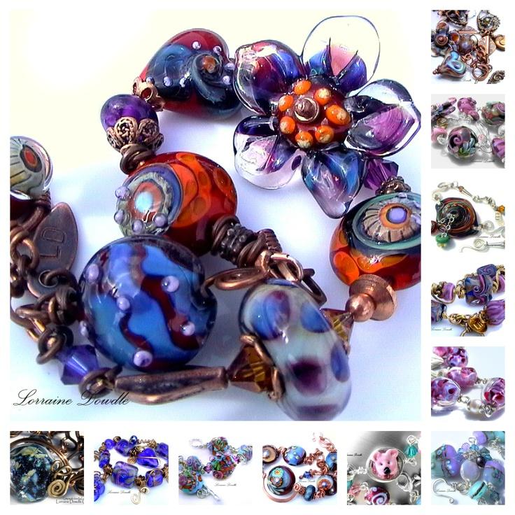http://www.lorrainedowdlecreations.com/gallery/LorraineDowdleBracelet1.jpg