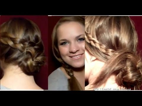 """""""5 minute Updos For Everyday 1"""" by Lets Make It Up! (via YouTube.com)"""