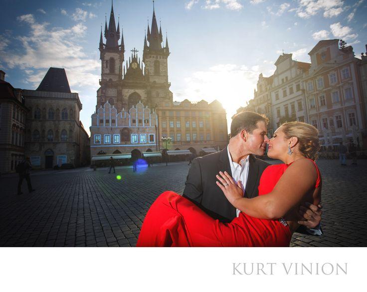 London wedding & Prague pre wedding photographer - A wedding proposal & portrait session in Prague: L&G romantic engagement portrait session in Prague's Old Town Square. Keywords: Prague Engagement Photography (24).