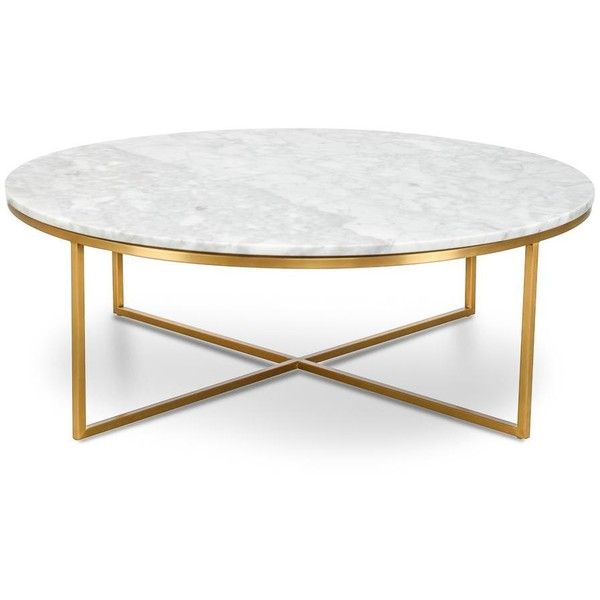 Primo Coffee Table Round Featuring Polyvore Home Furniture