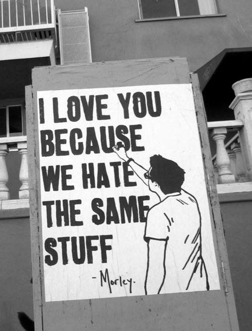 : Best Friends, I Love You, Te Amo, True Love, Street Art, Valentines Day, Funny Photos, True Stories, Streetart