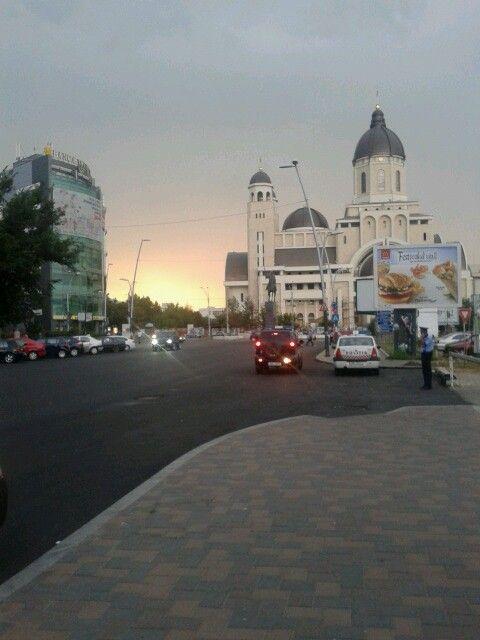 Sunset in Bacau