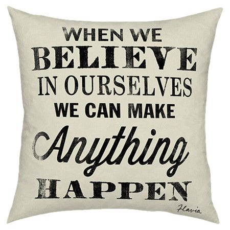 Believe in Ourselves Pillow at Joss & Main