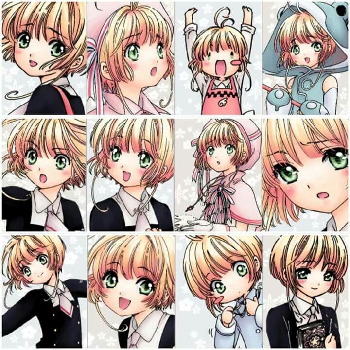 Sakura Kinomoto Clear card arc