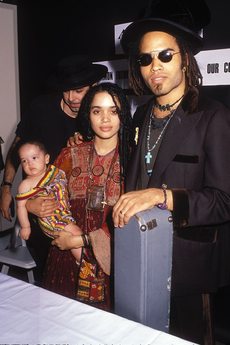 Lenny kravitz pants tear bing images - How Zo Kravitz And Lisa Bonet Nailed Mommy And Me Style Before It Was
