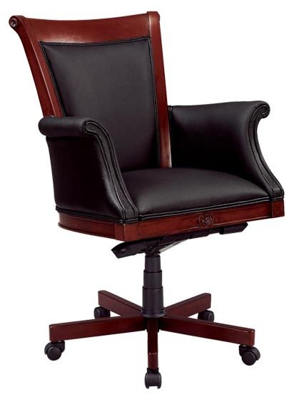 17 best images about desk chair on pinterest traditional for Traditional wooden kitchen chairs