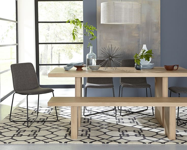 Prim Table And Bench From Our New Crossroads Collection Made Solid White Oak In