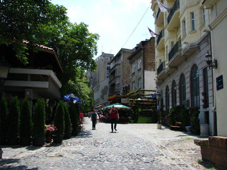 Skadarska street (Skadarlija) - Belgrade my way