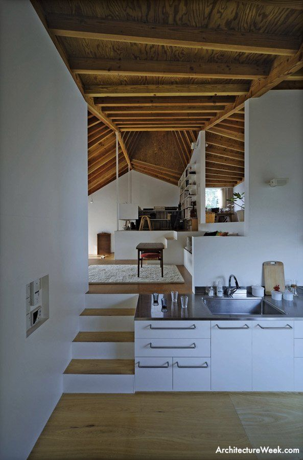 ArchitectureWeek Image - Atelier Bow-Wow - Houses