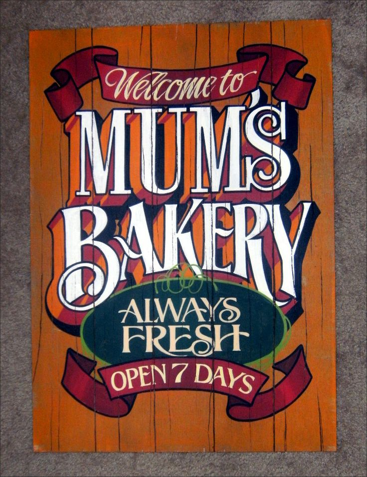 Hand painted Faux Antique wooden sign, Los Angeles. www.KingSignandGraphic.com