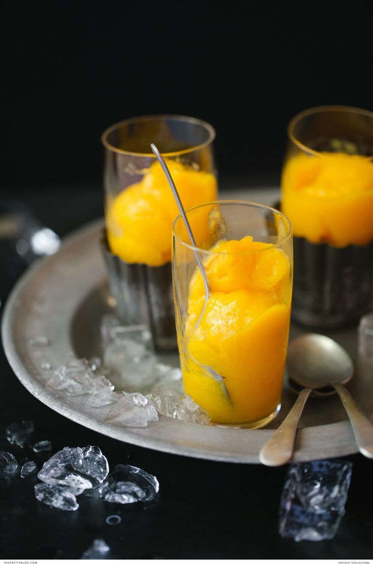 Delicious Mango Sorbet Recipe by The Food Fox