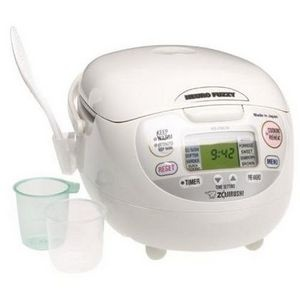 Zojirushi NS-ZCC10 Neuro Fuzzy 5.5-Cup Rice Cooker #viewpoints  I love this little guy!!! <3 <3 <3